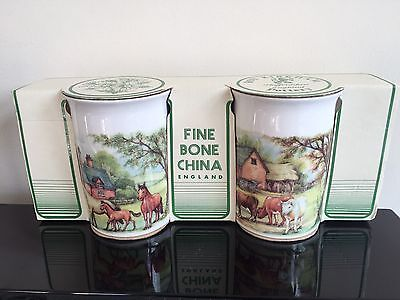 Pair Of Roy Kirkham Homestead Mugs - New In Box