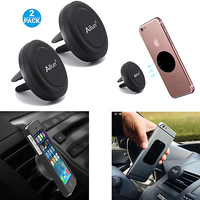 Universal Mobile Cell Phone GPS Air Vent Magnetic Stand Car Mount Smart Holder