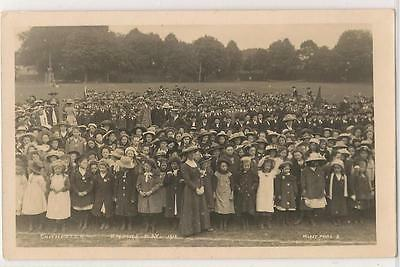 RP Postcard (Morley Photo. 2) Chichester - Empire Day 1912