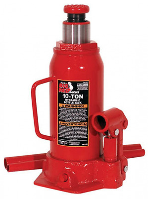 Torin Jacks T91003 10 Ton Hydraulic Bottle Jack