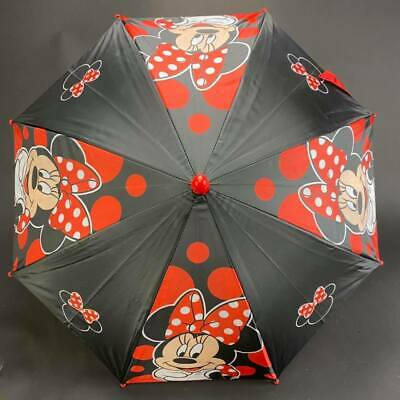 Disney Junior Minnie Mouse Molded Red Umbrella for girls