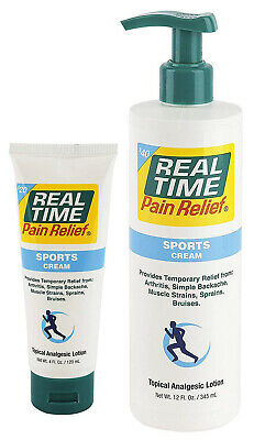Real Time Pain Relief Sports Cream
