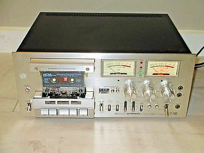 Pioneer CT-F1000 Stereo Cassette Deck Tape Recorder Player