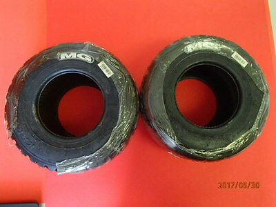 Race go kart shifter tag NEW SET OF FRONT MG WET TIRES 10x4.20-5 Tubeless Rain