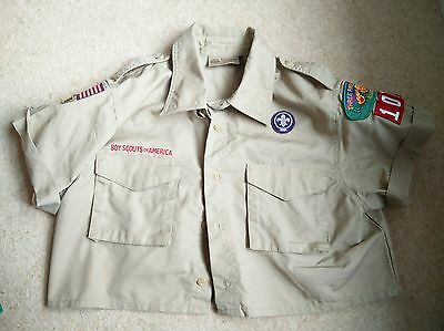 **rare** Vintage Boy Scouts Of America Shirt - Adult Small