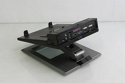 Dell 0TC6RT Notebook E-View Stand w/ Dell K09a Docking Station
