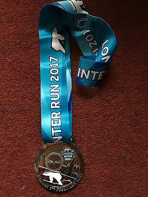 Cancer Research Uk London Winter Run 2017 Finisher Medal