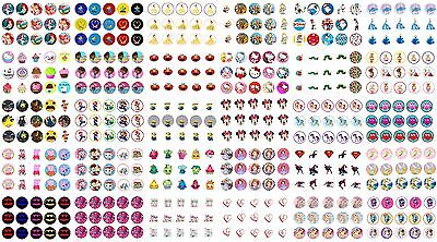 """✿ 15 or 30x 1"""" ROUND PRE CUT BOTTLE CAP IMAGES ANY DESIGN see message 4 choice ✿"""