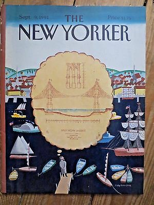 The New Yorker Magazine Americana September 9th 1991