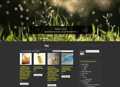Komplett Affiliate Shop www.natur-dekoshop.de