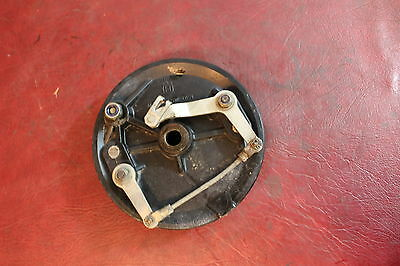 1982 Husqvarna Wr430 Front Drum Brake Twin Leading Shoe Oem Ahrma Xc Wr Cr 430