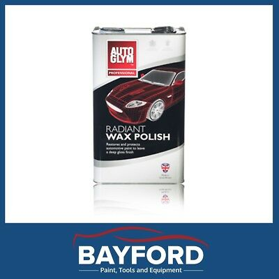 Autoglym Wax Radiant Polish - 5 Litre - Professional - Detailers / Car Care