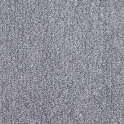 CHUNKY THICK Saxony Light Grey Felt back carpet 4m Wide £6.99sqm *FREE DELIVERY*