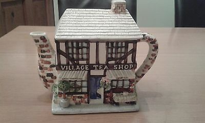 Western House Gifts The Village Teapot Collectables