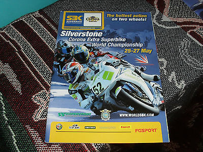 2007 World Superbike Sbk Programme - Silverstone - James Toseland Cover