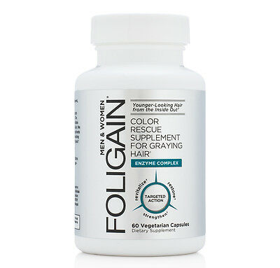 FOLIGAIN ANTIGRAY HAIR FORMULA 60 Capsules