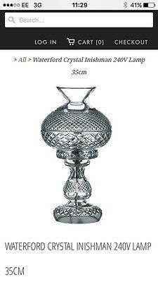 Waterford Inishmaan L2 Table Lamp 240v