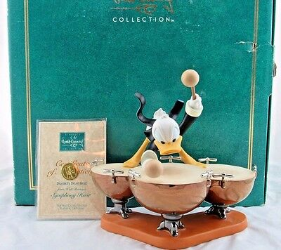 """WDCC """"Donald's Drum Beat"""" Donald Duck from Disney's Symphony Hour in Box, COA"""