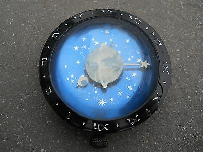 Vintage Westclox Paperweight Pocket Watch Celestial Moon & Stars Circa 1930 Rare