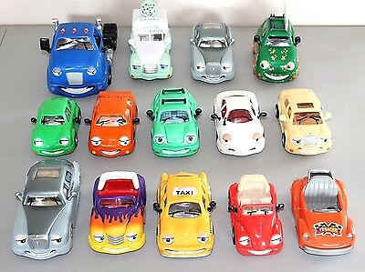 THE CHEVRON CARS Huge Lot Chandler Chip Tyler Taxi Leo Limo Cary Sam Wendy Kelly