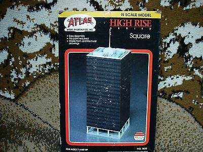 Atlas N Scale #2835 Square High Rise Building Kit,last One.....................