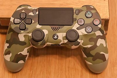 Sony Playstation Dualshock 4 V2 Wireless Controller - PS4 - Green Camouflage NEW