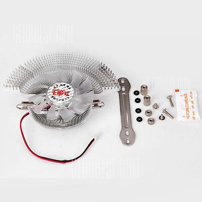 2PIN QQ CORAL VGA Cooler (Fan & Heatsink) for Nvidia ATI VGA Video Graphics Card