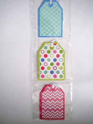 PKG. OF 9 ANY OCCASION GIFT TAGS ~ 3 Different Designs ~ #1