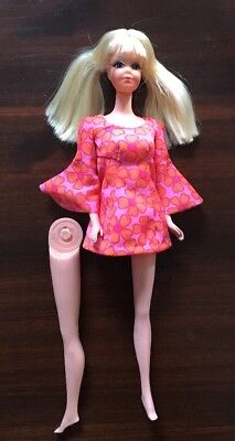 Vintage Mod 1969 Blonde Talking PJ Midge Barbie Mute Original Dress Panties