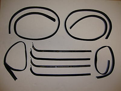 1967-1970 Ford Pickup Truck Door Window Glass Weatherstrip Kit F100, F250, F350