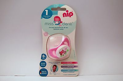 NEW NIP Miss Denti 0-6 Month Silicone Soother Baby Dummy Infant Pacifier