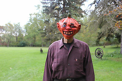 1990 Pumpkinhead Adult Halloween Mask C. F. Mfg Co