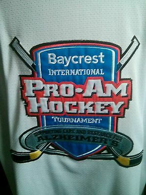 BayCrest International Pro-AM Hockey Tournament game worn jersey NHL