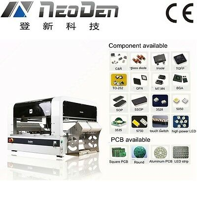 Pick and place machine SMT placement equipment NeoDen4 for prototype labs-J