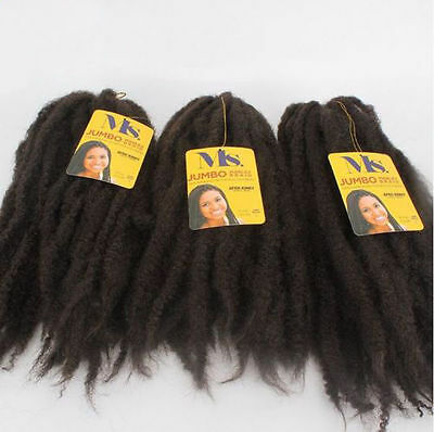 Synthetic Marley Hair Afro Braiding Kanekalon Crochet Extensions