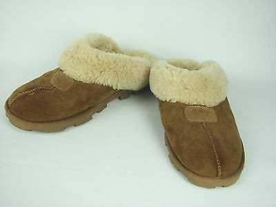 UGG Women COQUETTE SLIPPERS Slip on in CHESTNUT Size 10