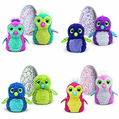 Hatchimals - Interactive Pet Draggles Purple Green Egg By Spin Master Kid Toys