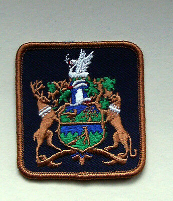District of Saanich - Coat of Arms Patch
