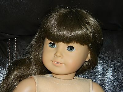 "Pleasant Company American Girl 18"" Doll RARE Hazel Eyes Brown Hair CLEAN!!"