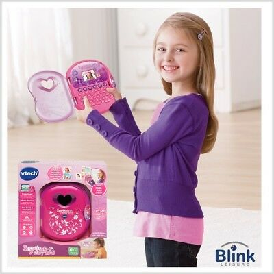 VTech Secret Safe Diary Visual With Camera & Voice Access (Pink)
