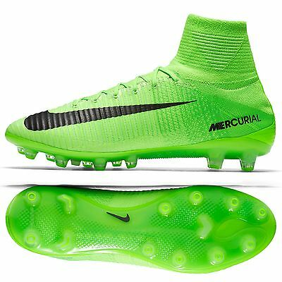 Nike Mercurial Superfly V AG-PRO Radiation Pack 831955-305 Green Soccer Cleats