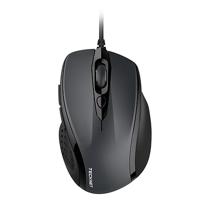 TeckNet Pro S2 High Performance Wired USB Mouse, 6 Buttons, upto 2000dpi