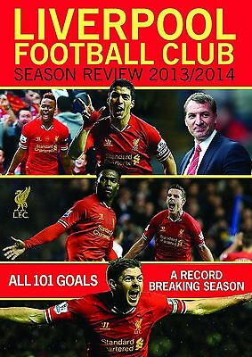 Liverpool Football Club Season Review 2013-2014 DVD Original UK Release New R2