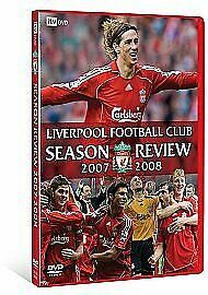 Liverpool FC Football Club LFC Season Review 2007 and 2008 UK Release New R2