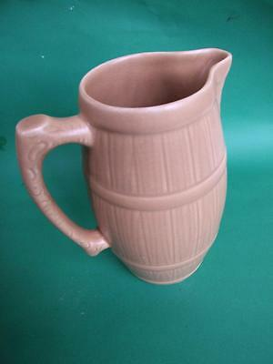 ART DECO SYLVAC  POTTERY LARGE  BROWN JUG  / VASE  1930's