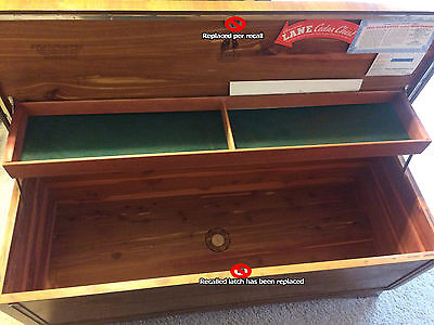 Lane Cedar Chest 1950s, Vintage, Nice condition, Locks, Replaced Latch