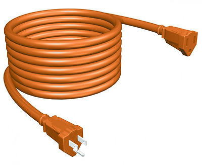STANLEY 36504 PowerCord Grounded 14-Gauge Outdoor Extension Cord, 50-Feet, Orang