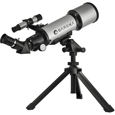 Barska AE10100 Starwatcher 40070 Compact Refractor Telescope with Table Top Trip