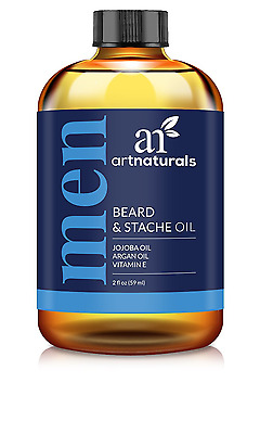 ArtNaturals Organic Beard Oil and Conditioner - 100% Pure and Natural Unscented