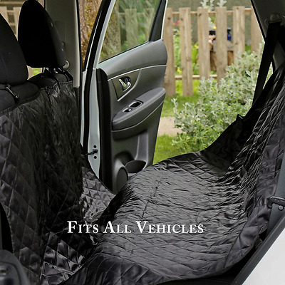 PetsN'all Pet / Dog Car Seat Cover For Cars - Large Size 75x58 inch - Bac